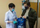 Профком студентов ФГБОУ ВО «СГМУ» передал медицинским работникам г. Смоленска многоразовые маски, сшитые своими руками